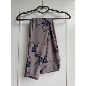 Lularoe elk print leggings